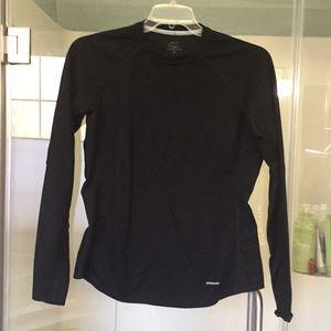 Patagonia Long-Sleeve Baselayer- XL Black